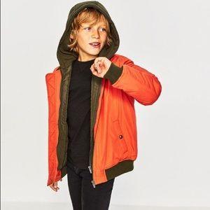 Zara boys bomber jacket